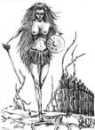 Karina - karta runy Thurisaz