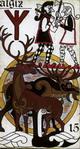 Tajemnicza karta runy Algiz