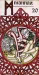Tajemnicza karta runy Mannaz