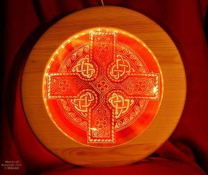 Krzyż celtycki żywioły ziemia powietrze ogień woda